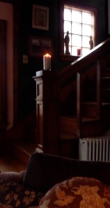 a light on our staircase