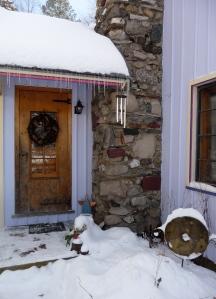 Welcome friends: Our kitchen door