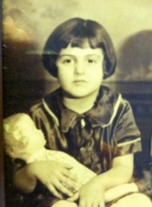 my mother, 83 years ago